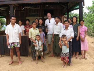 Charlie in Myanmar